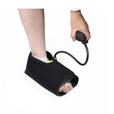 attelle de pied