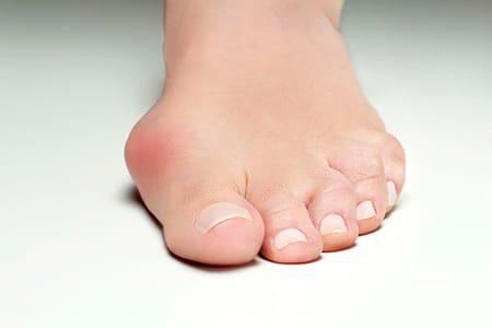 image d'un pied