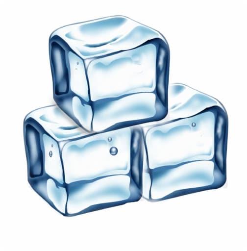 cubes de glaçons